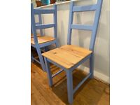 SET OF FOUR dining chairs!