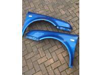 VW Bora front wings in blue Volkswagen breaking spares