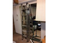 Extendable step ladder, hardly used