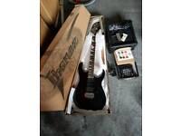 Ibanez Gio guitar plus accessories