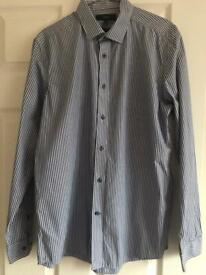 Next Mens size 16R tailored fit shirt