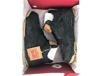 Nike Air Jordan 4 Retro X Levi's NRG Black UK 9