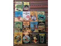Adventures of Tintin - Set of 14 paperbacks