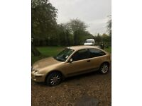 Rover for cheap run around or spares, mot until aug 2018