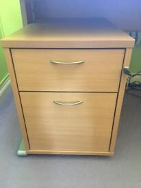 2 Drawer Office Unit
