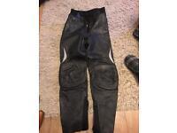 Ladies leathers size 10 euro 36