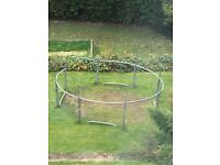 """12"""" foot trampoline in good condition, dismantled and ready to go"""