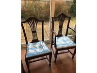 5 Dining Chairs perfect for upcycling project