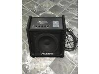 Drum - Alesis wireless amp - transactive drummer amp