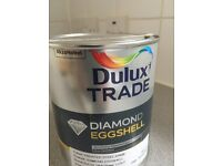 3 X 1L tins of Dulux Trade Paint