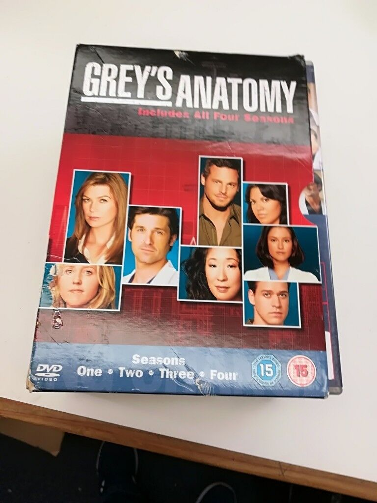 Grey Anatomy dvd box set | in Leith, Edinburgh | Gumtree