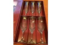 Enchanted champagne glasses