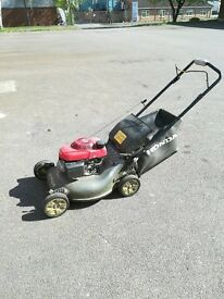 Honda petrol lawn mower model HRG536VK in excellent condition. Bought 2016.