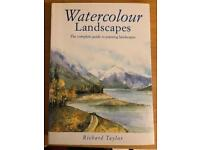 Watercolour Landscapes and Making Color Sing