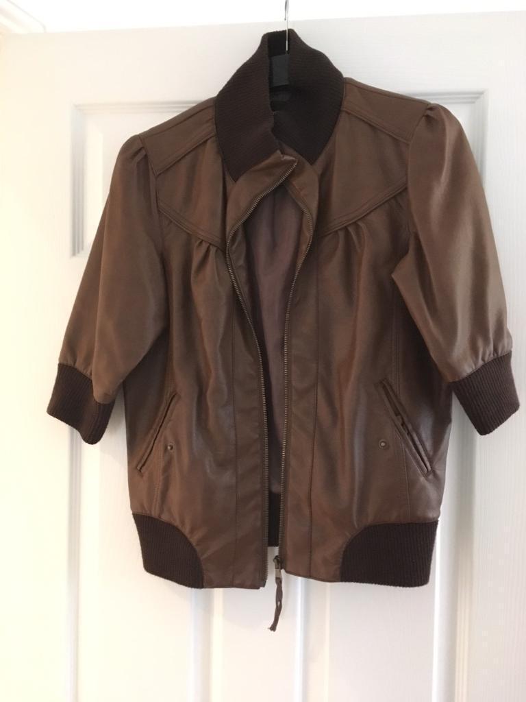 Ladies brown jacket size 12