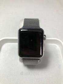 Stainless steel Apple Watch- 38mm, silver