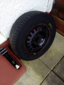 Wheel and Tyre for Vauxhall Corsa
