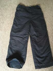 Blue Sprayway lined trousers age 6-7