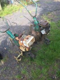 Mowers rotovator lawn mower