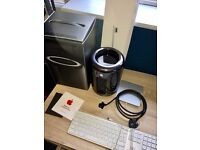 Apple Mac Pro 3.5 GHz 6-Core, 16 GB RAM, Dual AMD FirePro D500 3gb, [512GB Flash Drive]