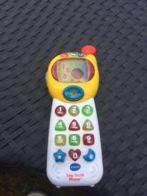 VTech Tiny Touch Phone & Ball Tower Toys