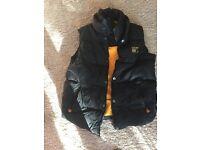 For sale superdry men's body warmer jacket