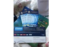 England v New Zealand ICC Champions Trophy Tickets x 2