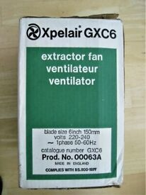 """Xpelair 6"""" window or wall fan"""