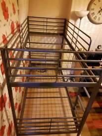 IKEA BUNK bed frame + Mattress
