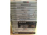 Assorted Xbox 360 Games (17 titles)