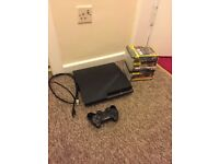PS3 with 12 games (delivery)