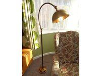 Laura Ashley Antique Brass Floor/Reading Lamp