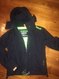 Superdry coat size small