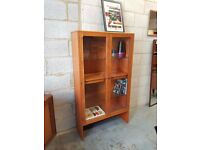 G Plan Mid Century Retro Glazed Bookcase