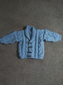 Toddler/ young childrens aran cardigans