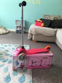 Micro 3 in 1 Scooter Pink