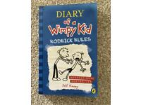 New Diary of a Wimpy Rodrick Rules book
