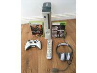 Microsoft Xbox 360 & 2 games