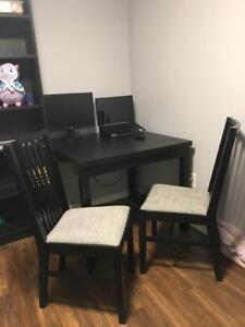 2 X Ikea NORRNAS Chairs