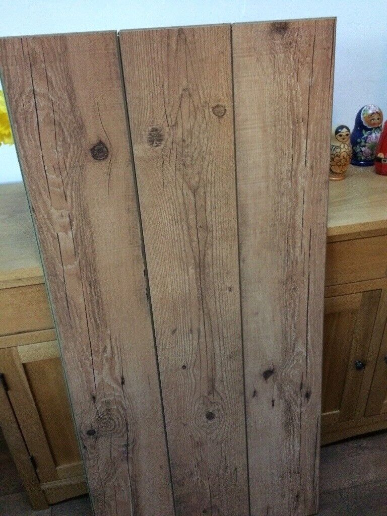Antique Oak Laminate Flooring 11sq Metres Good Quality 50