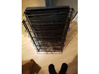 Dog cage sloping access new unused
