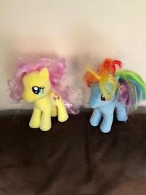 2 ty my little ponies