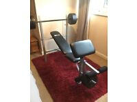 Pro fitness workout bench
