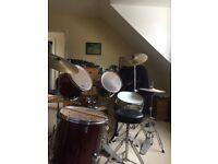 Adult drum set
