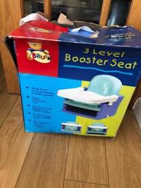 Bruin 3 level booster seat