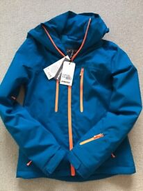 New and unworn Protest Giggile women's ski jacket XS blue sapphire
