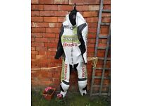 Honda Hannspree CBR Race Leather Motorcycle Suit