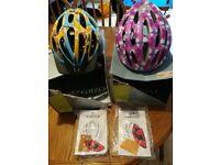Giro Flurry & Giro Phantom Youth Bike Helmets 50-57cm.
