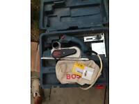 Used Bosch 110v planer