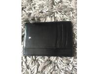 Montblanc card holder wallet